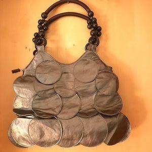 Vegan Leather Bubble Bag, NWT